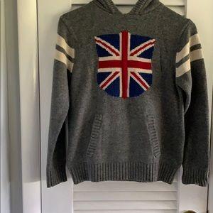 Gap Kids Hooded Union Jack Sweater